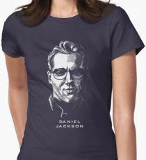 Daniel Jackson Stargate Womens Fitted T-Shirt