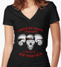 Lords of Death Women's Fitted V-Neck T-Shirt