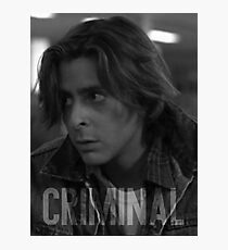 Criminal - The Breakfast Club Photographic Print
