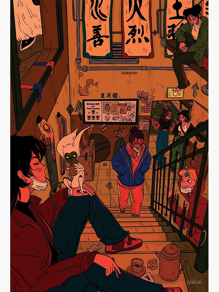 in the backroom of the jasmine dragon by oakai
