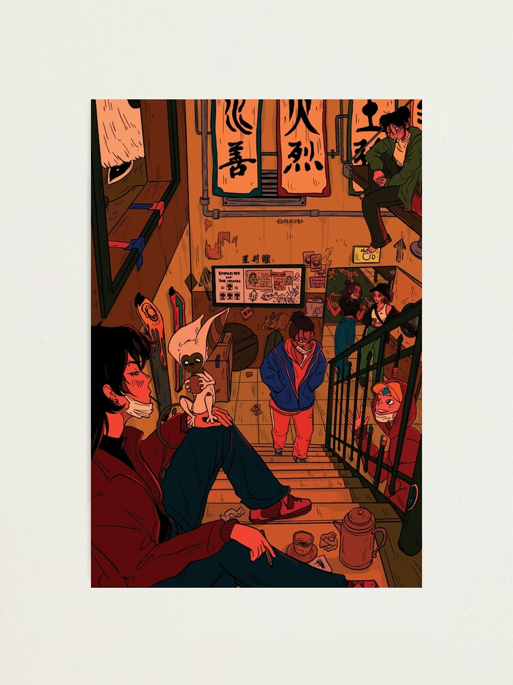 Alternate view of in the backroom of the jasmine dragon Photographic Print