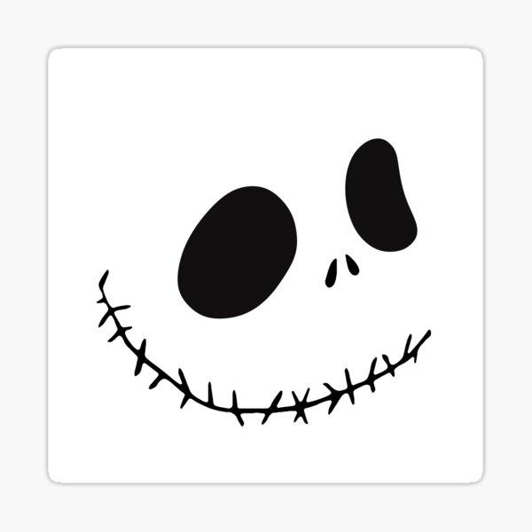 """Nightmare Before Christmas Jack Skellington Rear Floor Mats 17/"""" x 14/"""" Pair"""
