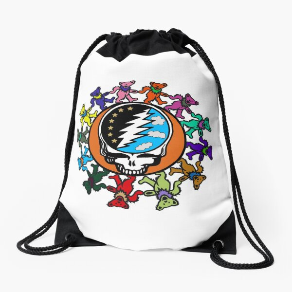 Dead Head Drawstring Bag