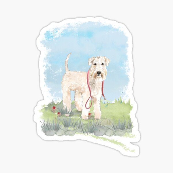 A Pooch For You - Wheaten Terrier Sticker