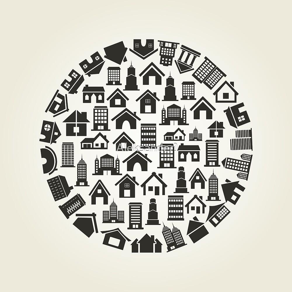 House a circle by Aleksander1