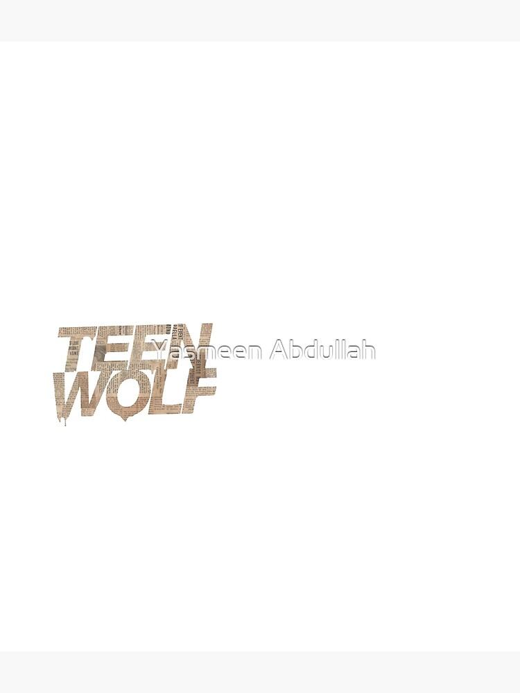 Teen wolf  by YasmeenACrafts