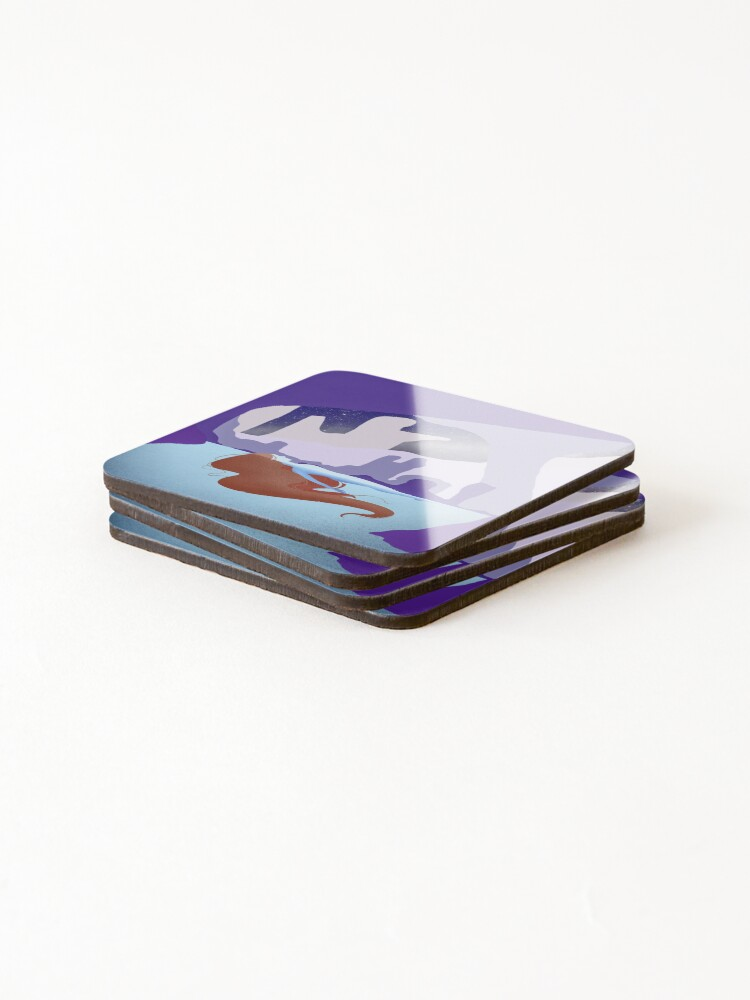 Alternate view of Night swim Coasters (Set of 4)