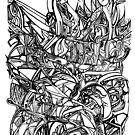 ill chi original illustration by paolomascatelli