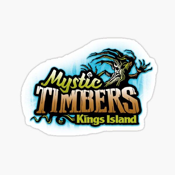 Mystic Timbers Kings Island Sticker