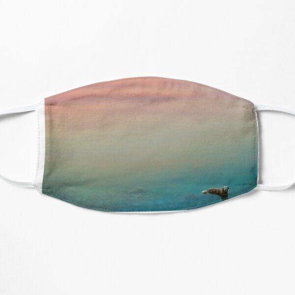 Hopper in the Clouds Flat Mask