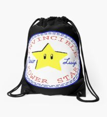 The Other Mario All-Stars Drawstring Bag
