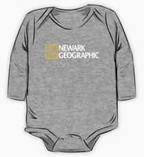'Newark Geographic' One Piece - Long Sleeve