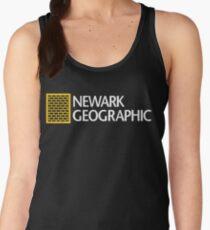 'Newark Geographic' Women's Tank Top