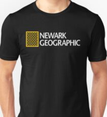 'Newark Geographic' Unisex T-Shirt