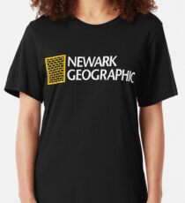 'Newark Geographic' Slim Fit T-Shirt
