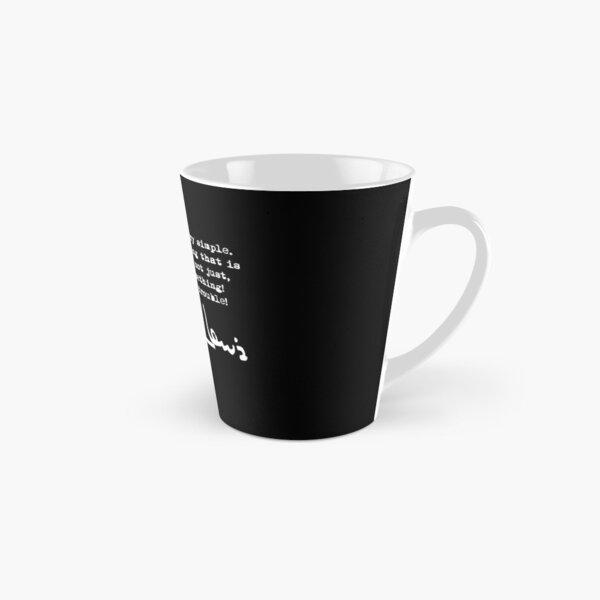 John Lewis - Good Trouble Quote 1.2 Tall Mug