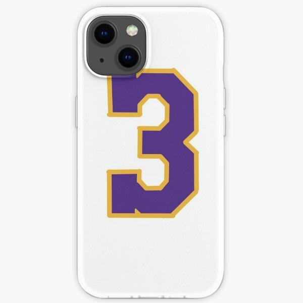 Anthony Davis Lakers 3 Coque souple iPhone