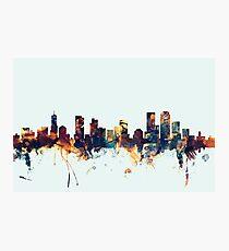 Denver Colorado Skyline Photographic Print