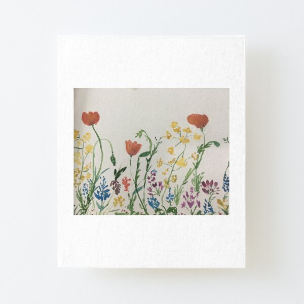 Wild Flowers by Tola Canvas Mounted Print