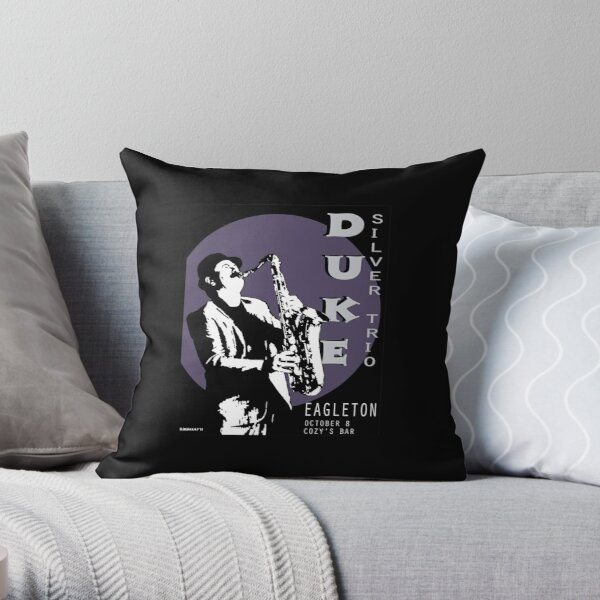 Duke Silver Live In Concert  Throw Pillow