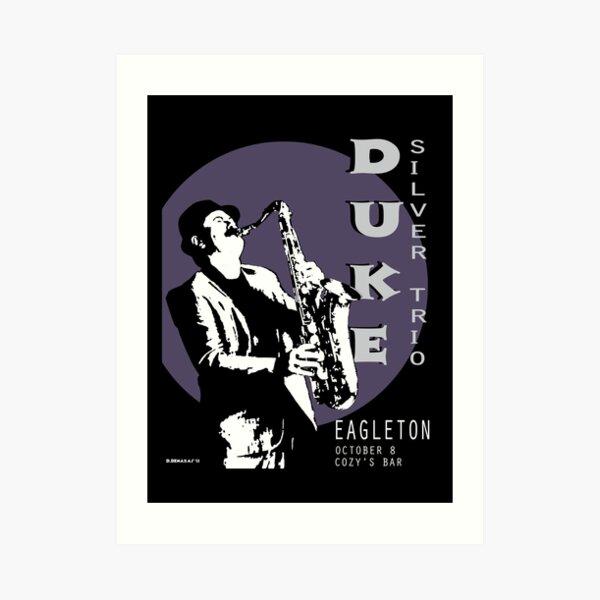 Duke Silver Live im Konzert Kunstdruck