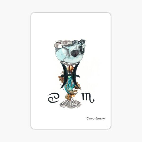 Ace of Grails - As de Grails  Sticker