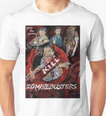 Who you gonna Kill ! ZOMBIEBUSTERS  T-Shirt