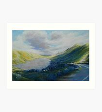 Lough Nafooey Art Print