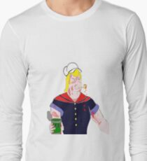 Brock the Sailor Man Long Sleeve T-Shirt