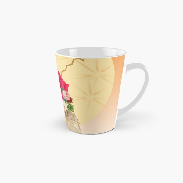 Modern Digital Collage Art Queen of the Forest Tall Mug