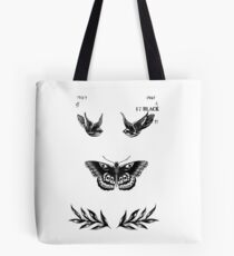 Harry Styles Tattoos Tote Bag