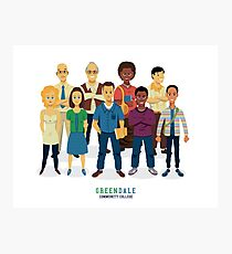 Greendale Photographic Print