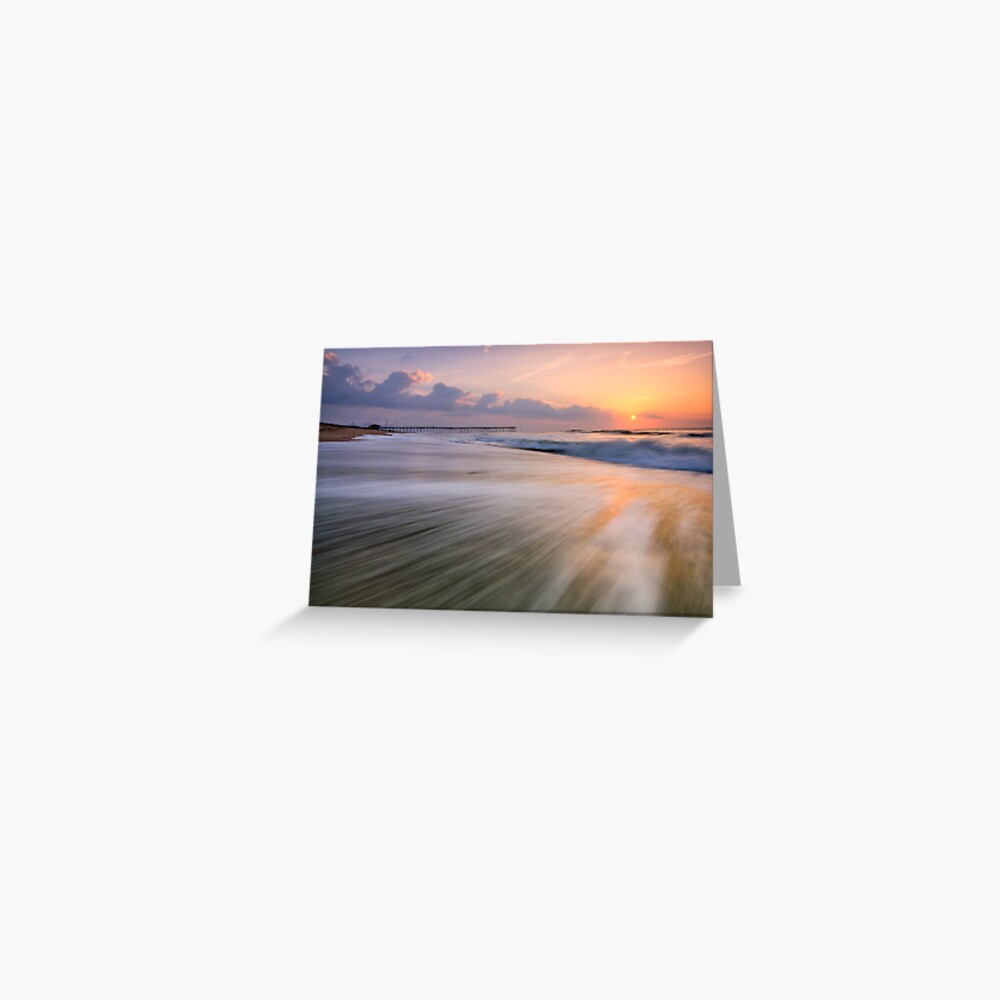 Under Tow, OBX Greeting Card