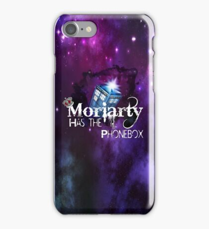 Moriarty has the Phonebox iPhone Case/Skin