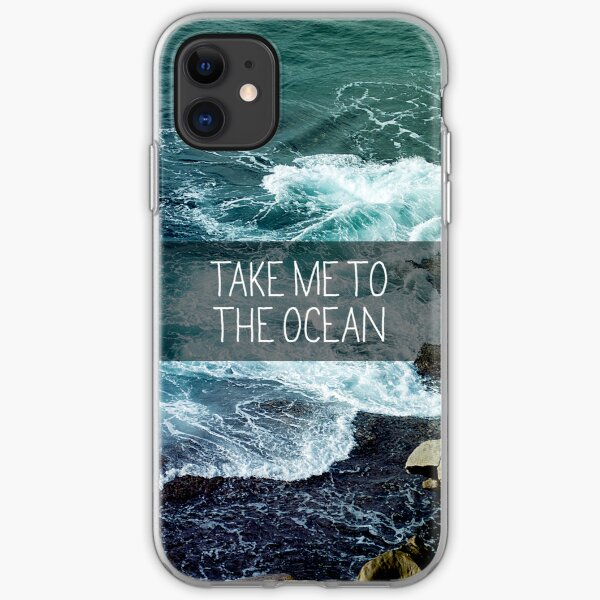 Take me to the Ocean iPhone Soft Case