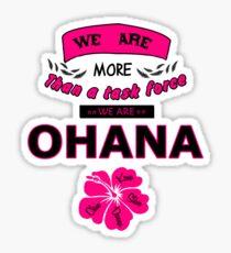 H50 Ohana Sticker