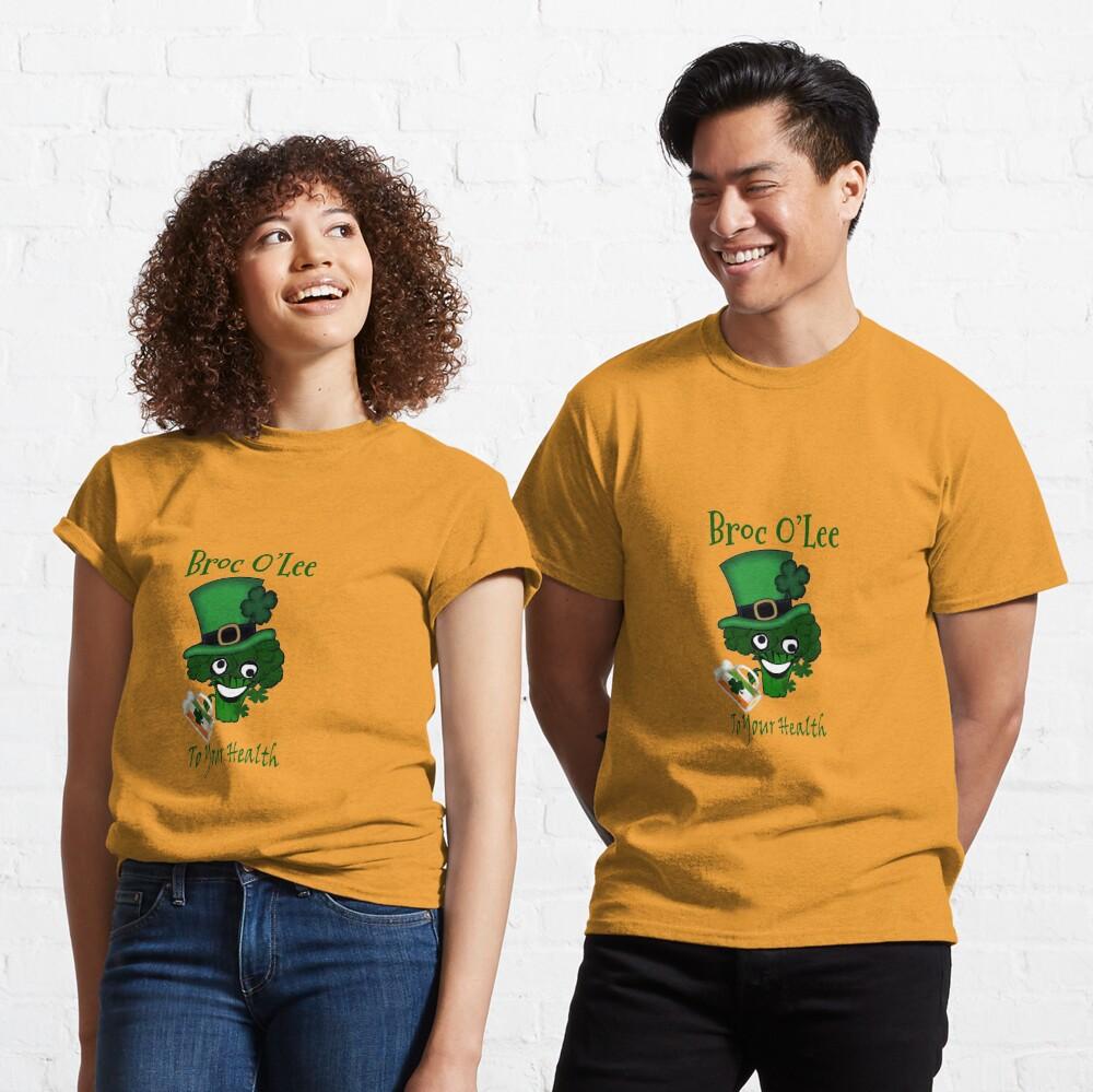 Vegan St Patricks Day Irish Classic T-Shirt