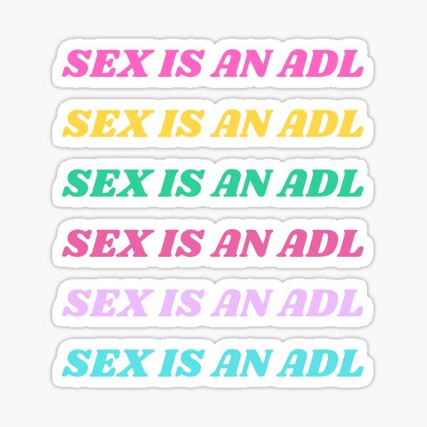Sex Is An ADL Sticker