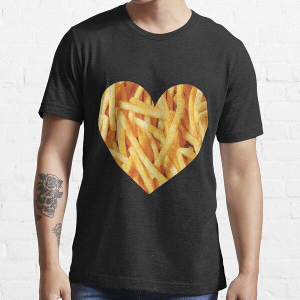 Papas fritas Camiseta esencial