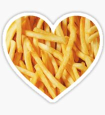 Frites d'amour Sticker