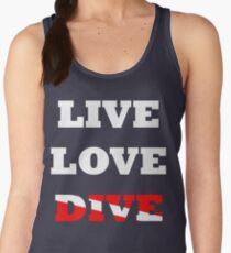 LIVE LOVE DIVE Women's Tank Top