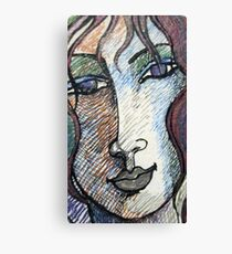 Portrait of an Imaginary Woman Canvas Print