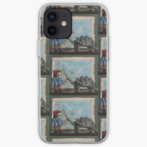 Sebbie and the Tortoise iPhone Soft Case