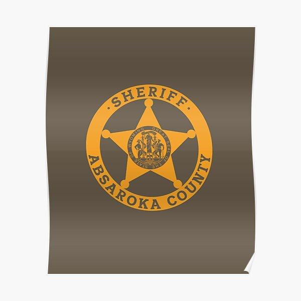 Absaroka County Sheriff (Longmire) Poster