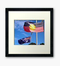 Aborigine & Australian Framed Print