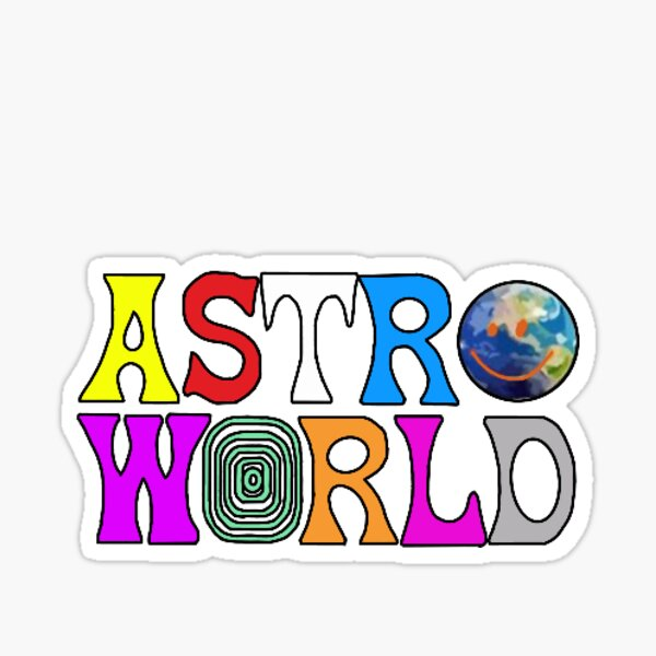 Astroworld  Sticker
