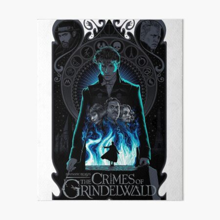 the crimes of grindelwald Art Board Print