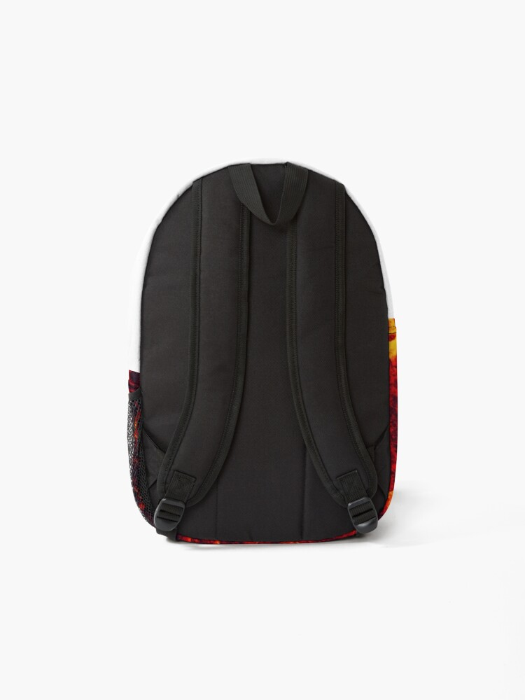 Alternate view of active lava  Backpack
