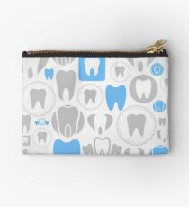 Tooth a background Studio Pouch