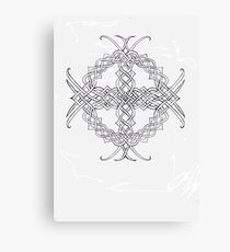 Knotwork Celtic Cross Canvas Print